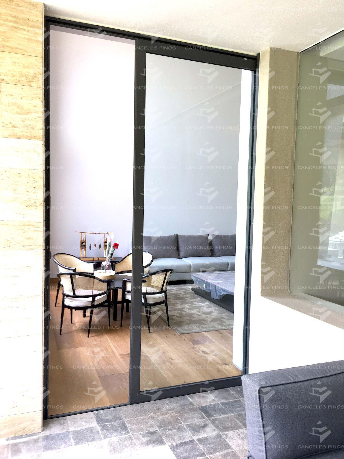 Puertas de cristal templado canceles finos for Puertas de cristal templado